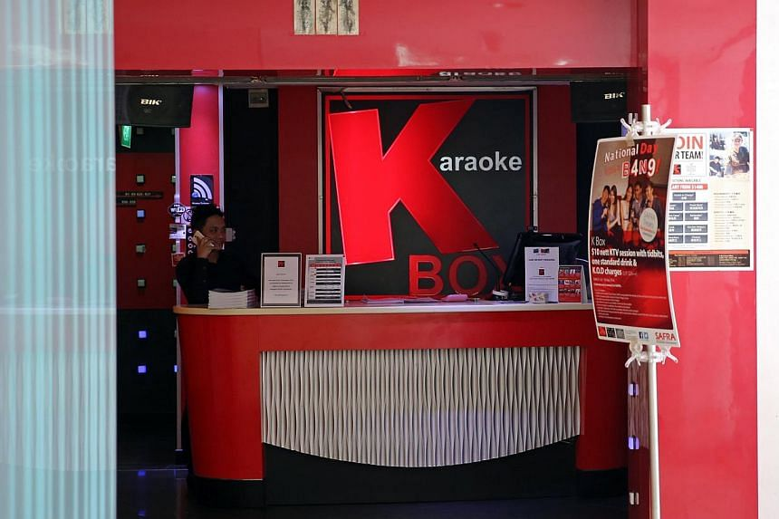 More than 300,000 people on K Box's membership scheme are affected by the leak. -- PHOTO: ST FILE