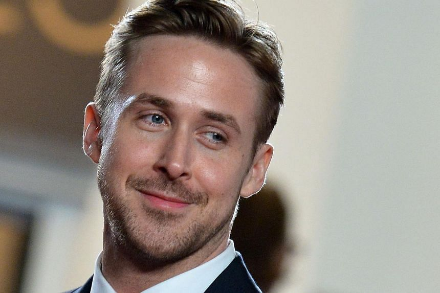 """In this May 20, 2014 file photo, Canadian actor Ryan Gosling smiles as he arrives for the screening of the film """"Lost River"""" at the 67th edition of the Cannes Film Festival in Cannes, southern France. Hollywood hearthrob Ryan Gosling and his actress"""