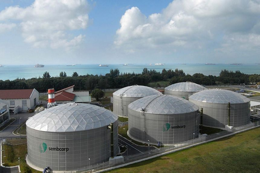 The NEWater Plant in Changi. -- PHOTO:SEMBCORP