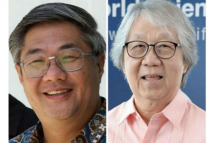 "Prof Woon (left) is in favour of repealing the law because of an existing ""constitutional problem"", but Prof Koh notes potential political pushback. -- PHOTO: ST FILE"