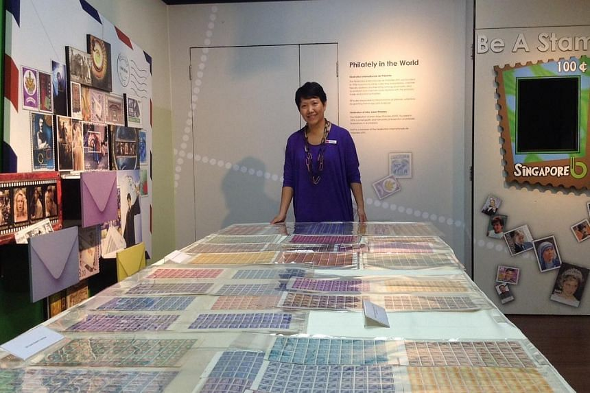Rare stamps on offer at Singapore Philatelic Museum's first