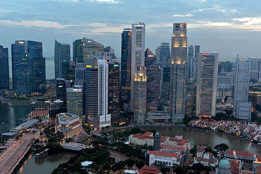 Singapore hasplaced eighth - the only developed economy among the top 10 - by the Milken Institute, in its first-ever ranking of the economic performance of Asia's major cities.-- PHOTO: ST FILE