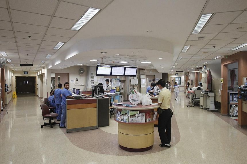 Singapore overtook Hong Kong to top a ranking of the most efficient health-care systems, as the Government boosts spending on medical services to support an ageing population. -- PHOTO: ST FILE