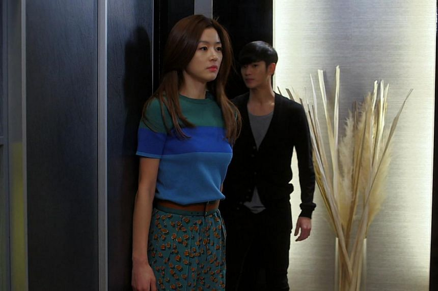 Television still: My Love From The Star starring Gianna Jun. -- PHOTO: ONE