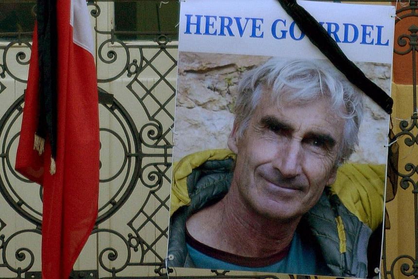 Algerian militants released a video of the execution of Frenchman Herve Gourdel who was kidnapped in what the group said was a response to France's action against Islamic State militants in Iraq. -- PHOTO: REUTERS