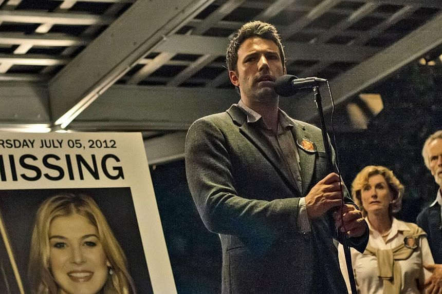"Cinema still: Gone Girl starring Ben Affleck. Affleck said he will be in a ""brief"" full-frontal nude shot in the film Gone Girl, which hits theatres in the United States on Friday. -- PHOTO: TWENTIETH CENTURY FOX"