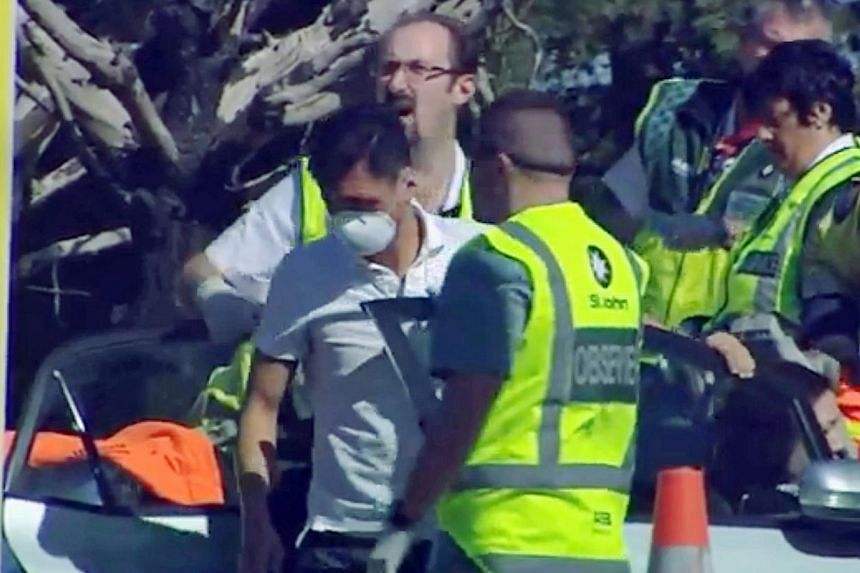 Five Singapore Airlines crew members were involved in a road accident on Wednesday in New Zealand which left two of them seriously injured, according to The New Zealand Herald. -- PHOTO: NZ HERALD