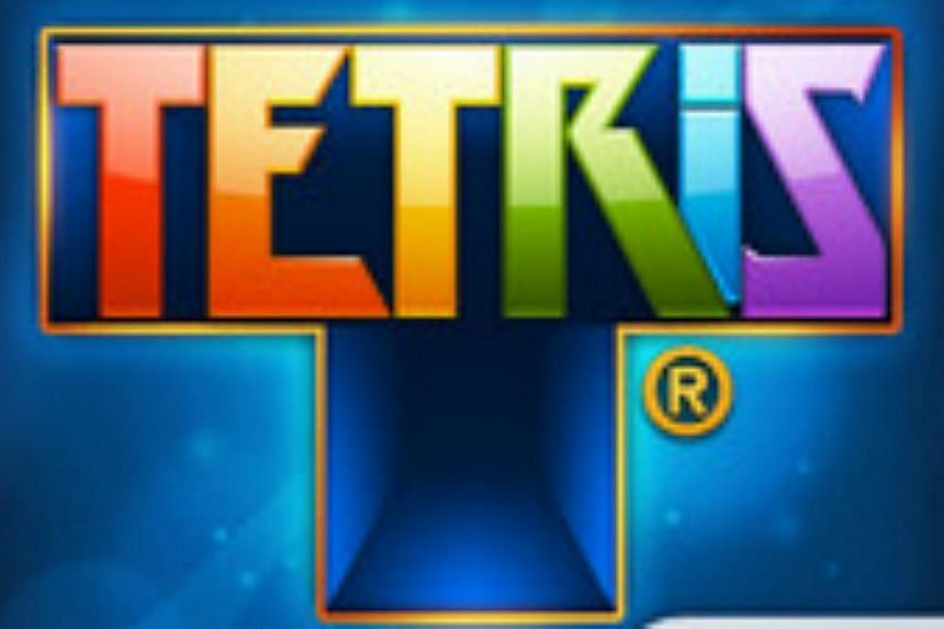 The classic videogame Tetris, in which players slot a cascade of tumbling blocks together, is being turned into a science-fiction movie, the project's developers said Tuesday. -- PHOTO: EA