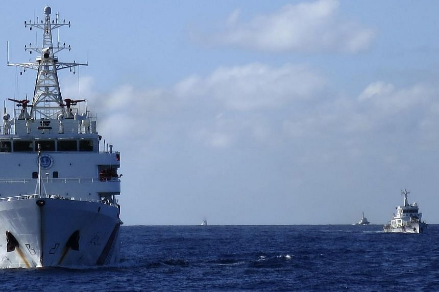 Chinese coastguard ships in the South China Sea, the subject of maritime disputes between China and various Asean member states. The rows have received much attention but they are not the central issue. They are symptoms of a far more fundamental iss