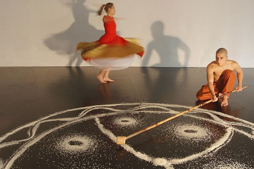 The cast will portray the cycle of human life in Mandala, set against a live soundscape. -- PHOTO: IN SOURCE THEATRE