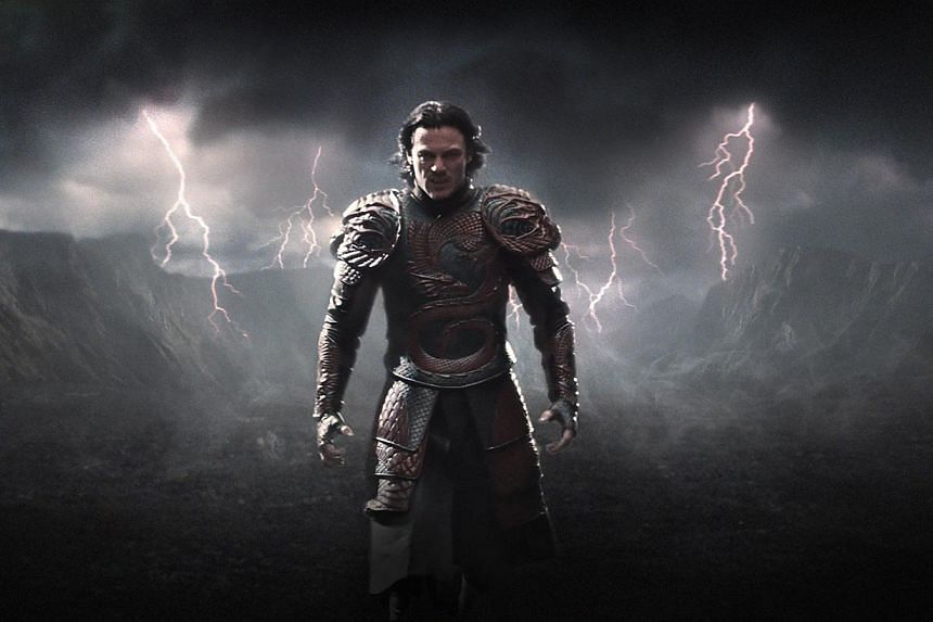 Luke Evans is the Transylvanian ruler who chooses to turn into a vampire to save his people. -- PHOTO: UIP