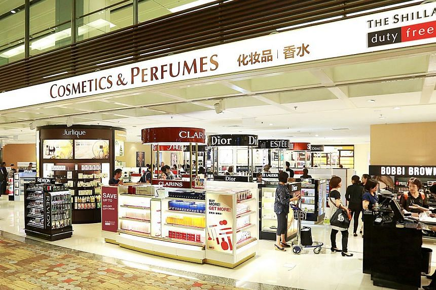 South Korea's Shilla Duty Free moved into Changi on Wednesday, after ousting incumbent Nuance Watson in a bidding contest. -- PHOTO: SHILLA DUTY FREE