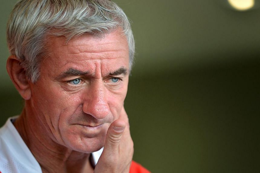 Liverpool's all-time record scorer Ian Rush (pictured) will lace up his boots once more as he leads the Liverpool Masters team as its player-manager to take on the Singapore Ex-Internationals side in a football exhibition match at the Jalan Besar Sta