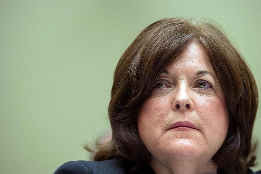 Director of the United States Secret Service Julia Pierson testifies before the House Oversight and Government Reform Committee on Capitol Hill in Washington, DC September 30, 2014. U.S. Secret Service Director Julia Pierson resigned under fire