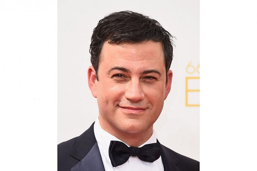 You may laugh at talk show host Jimmy Kimmel's gags and skits, but beware - he's the most dangerous celebrity of 2014, according to security technology company McAfee. -- PHOTO: AFP