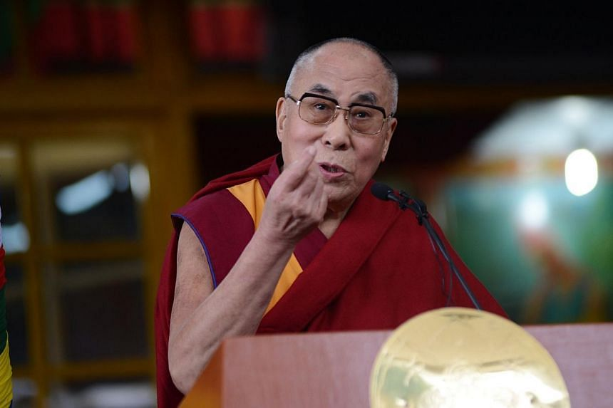 """Cape Town's mayor has """"suspended"""" a planned summit of Nobel peace laureates, blaming the South African government's """"intransigence"""" in refusing to grant a visa to the Dalai Lama. -- PHOTO: AFP"""