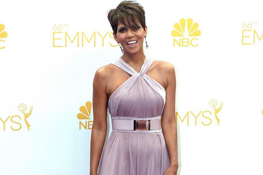 Halle Berry. -- PHOTO: AGENCE FRANCE-PRESSE