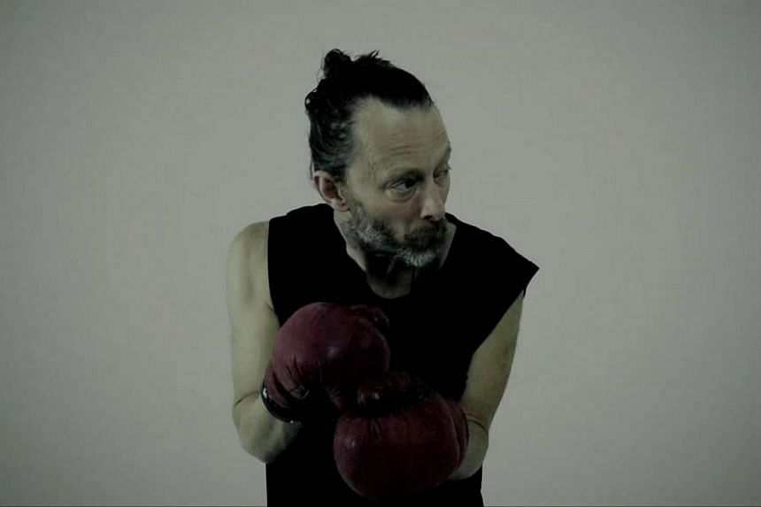 Thom Yorke rolls out his brand of electronica. -- PHOTO: COURTESY OF THOM YORKE