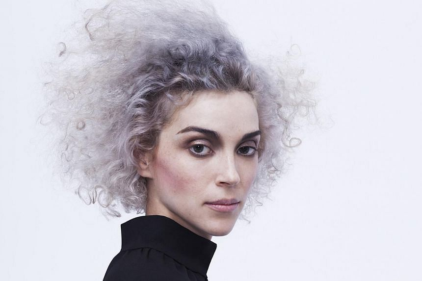 Artists in the line-up include Banks, FKA Twigs, (above) St Vincent and Lykke Li. -- PHOTO: LANEWAY FESTIVAL SINGAPORE
