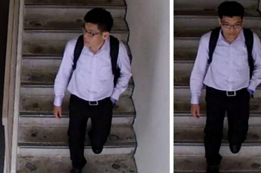 The Police are appealing for the public's help to identify a man whose help they need for investigations into a molestation case near Pasir Ris Street 71 on Sept 16. -- PHOTO: SINGAPORE POLICE FORCE