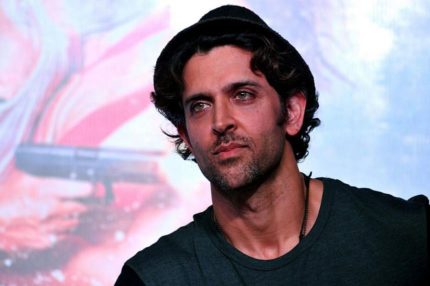Indian Bollywood actor Hrithik Roshan looks on during a promotional event for the forthcoming Hindi film 'Bang Bang' in Mumbai on Sept 22, 2014. -- PHOTO: AFP