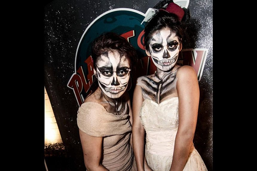 Dress your spooky best for dinner at The White Rabbit. -- PHOTO: LO & BEHOLD GROUP