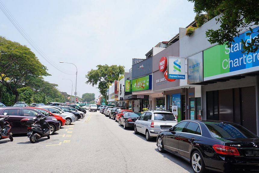 Businesses near the upcoming Sixth Avenue MRT station are glad the Downtown Line is opening earlier than expected, and hope they can keep the frontyard parking for their customers.