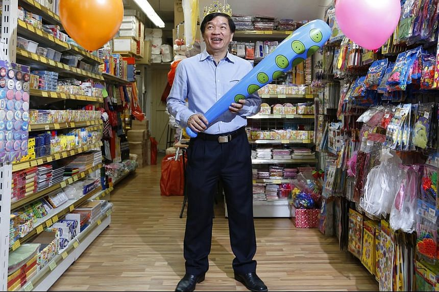 Retailer James Lim is heading online to sell his firm SKP's party ware, food packaging and stationery, even though he does not see himself as being particularly tech-savvy. His first foray into cyber retailing will be through e-commerce portal Shang