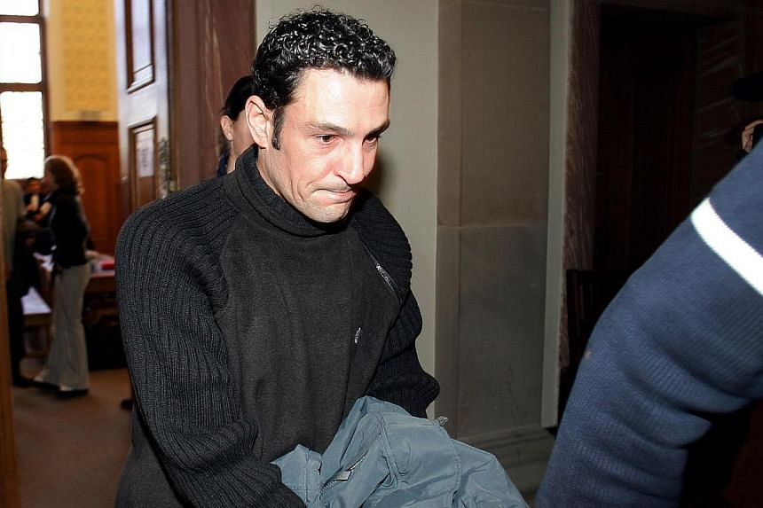 Frenchman Christophe Morat - seen here (above) in 2005 when he was jailed for six years for knowingly transmitting HIV - was on Thursday jailed for 12 years for the same crime, after infecting one woman and exposing five others to the risk