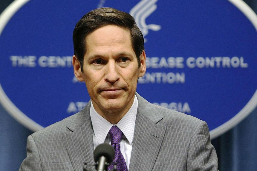 Centres for Disease Control and Prevention director Thomas Frieden speaking at the CDC headquarters in Atlanta, Georgia on Sept 30, 2014. On Saturday, he said US health officials have fielded inquiries about as many as 100 potential cases of Ebo