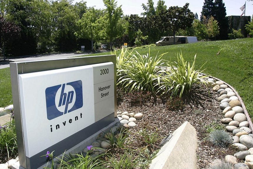 Founded by Bill Hewlett and Dave Packard in a Palo Alto, California garage in 1939, HP was one of the companies that shaped Silicon Valley and the PC revolution. -- PHOTO: AFP