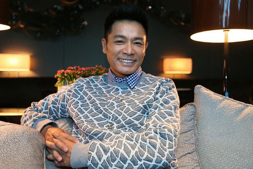 So bad he's good: Roger Kwok is a scheming lawyer in Black Heart White Soul. -- PHOTO: LIANHE ZAOBAO