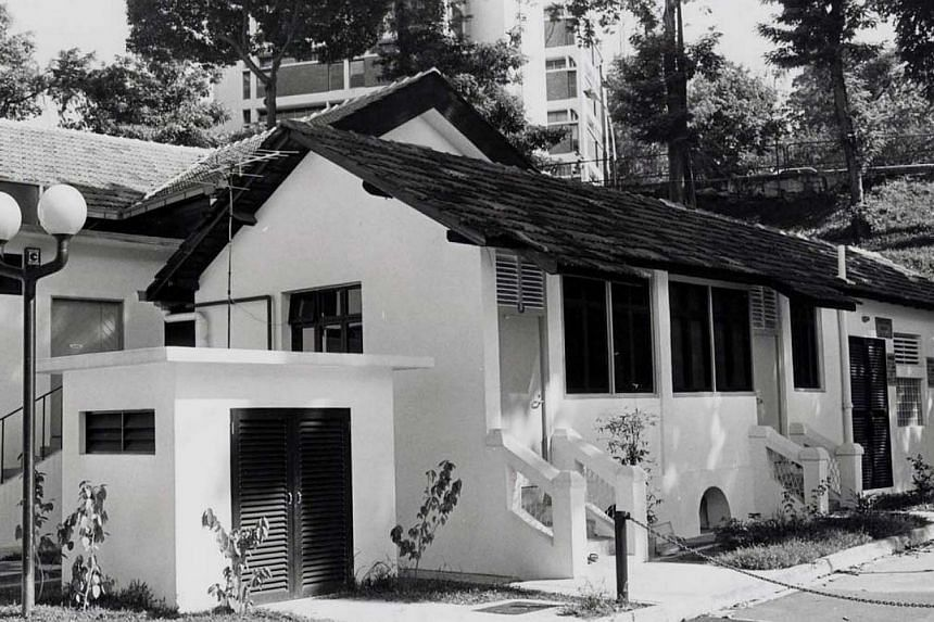 Orchard Road Presbyterian Church, the ''currymurder church''. It was here that policebelieve Mr Ayakanno Marimuthu, 38, waskilled. -- PHOTO: ST FILE