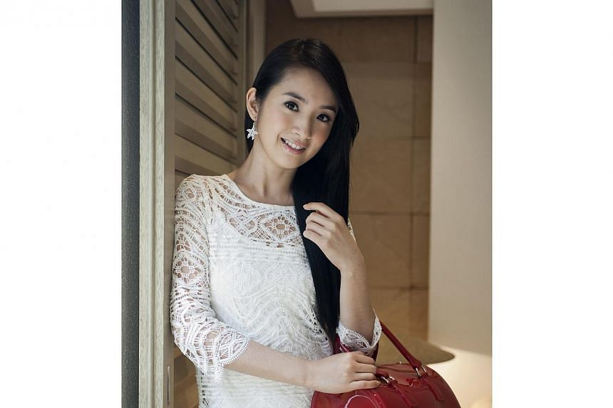 Taiwanese actress Ariel Lin.Wedding bells will chime soon for television sweetheart Ariel Lin and her boyfriend, businessman Charles Lin, says United Daily News. -- PHOTO: ST FILE