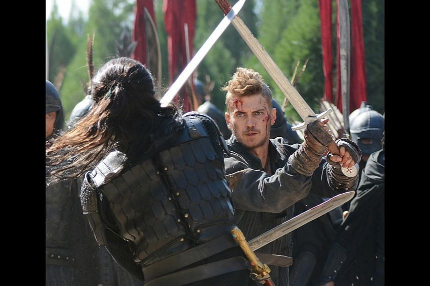 Hayden Christensen sports a fauxhawk that does not mess up even when he takes out guards and assassins. -- PHOTO: GOLDEN VILLAGE PICTURES