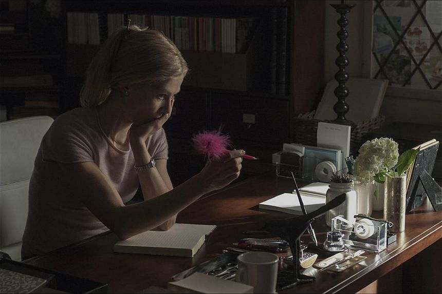 Rosamund Pike is a frontfrunner for several Best Actress awards for playing Amy, the complex title character in Gone Girl.