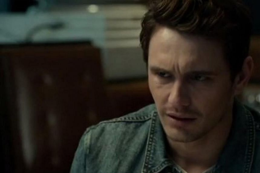 James Franco (above) is an American trying to make a living in England as a building contractor.