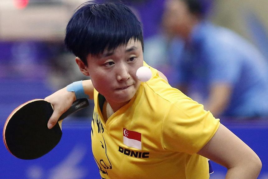 Singapore paddler Feng Tianwei may soon be using table tennis balls and bats tested locally.