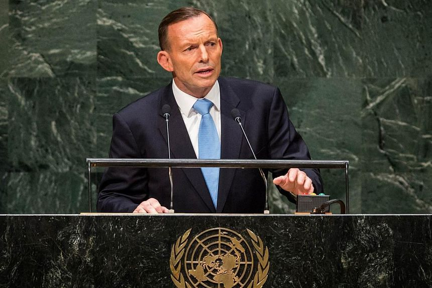 Australian Prime Minister Tony Abbott said on Wednesday that he was ordering a crackdown to prevent radical Islamist preachers entering the country, amidst rising tension with the Muslim community following a series of security-related raids. -- PHOT