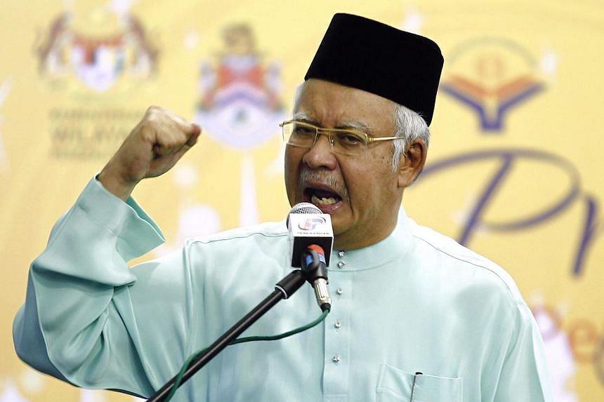 Malaysian Prime Minister Najib Razak condemned a grenade attack on Thursday that killed one and injured 13 others in Bukit Bintang and vowed to bring the culprits to justice, The Malay Mail Online reported. -- PHOTO: REUTERS