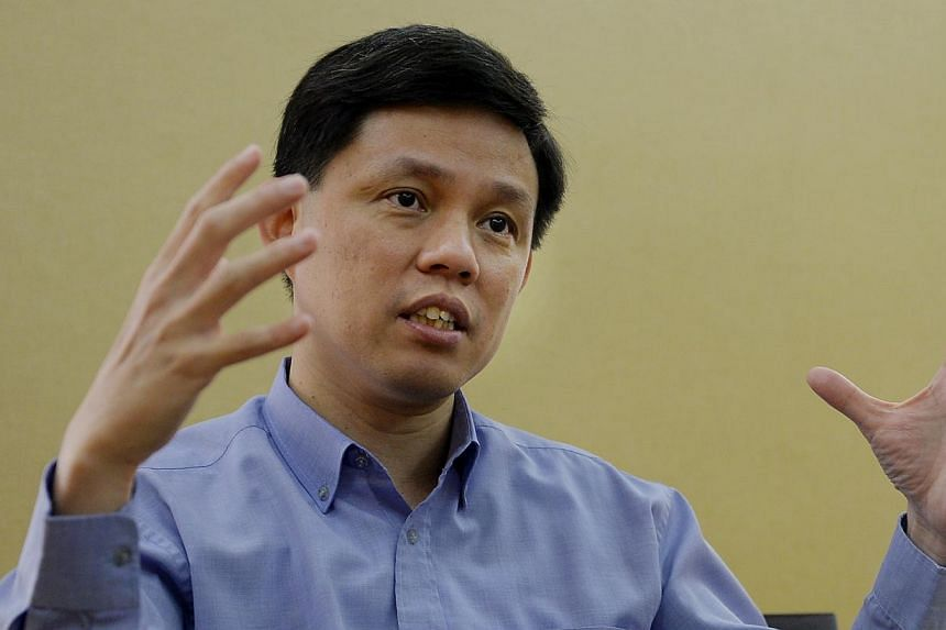 Minister for Social and Family Development Chan Chun Sing has urged corporate executives to go beyond cheque-writing and ad-hoc volunteering and contribute their specialised skills to voluntary welfare organisations (VWOs). -- PHOTO: BERITA HARIAN FI