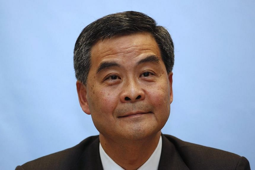 Hong Kong's Department of Justice on Thursday gave the prosecution office authority to handle the investigation of a business payout to Chief Executive Leung Chun Ying to avoid any perception of bias. -- PHOTO: REUTERS