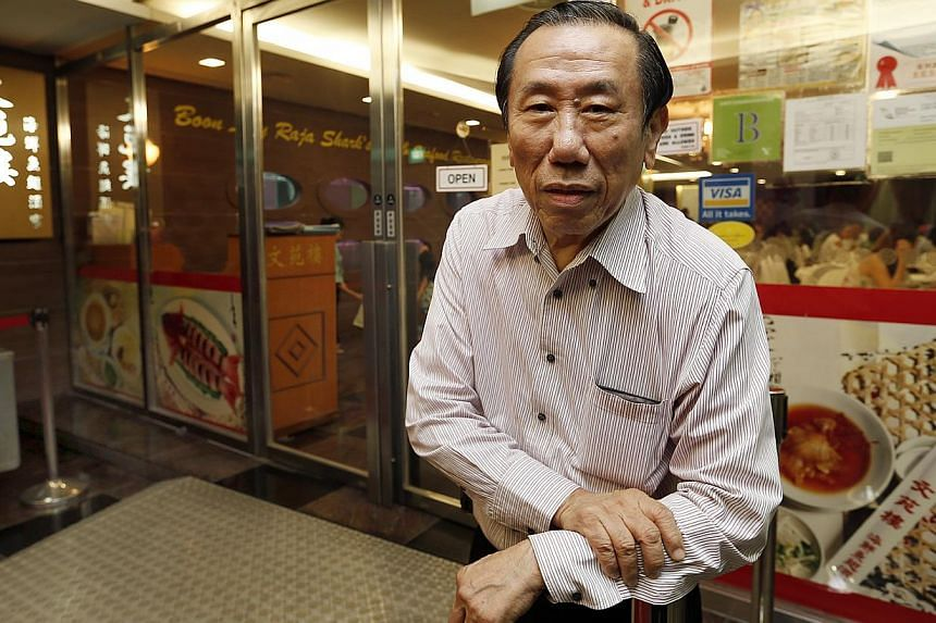 Mr Tan Kweng Nam, managing director of Boon Lay Raja, says he hopes the new owner will continue running the business. -- ST PHOTO: LAU FOOK KONG
