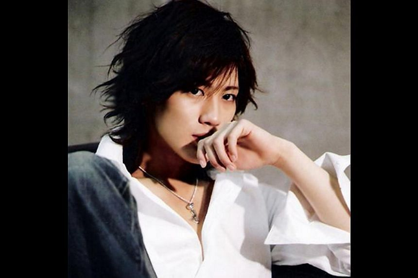 Jin Akanishi, 30. -- PHOTOS: HIM INTERNATIONAL MUSIC, ST FILE, AGENCE FRANCE-PRESSE, THE NEW PAPER FILE, APPLE DAILY, JOH