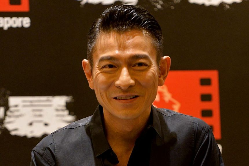 Andy Lau, 53. -- PHOTOS: HIM INTERNATIONAL MUSIC, ST FILE, AGENCE FRANCE-PRESSE, THE NEW PAPER FILE, APPLE DAILY, JOH