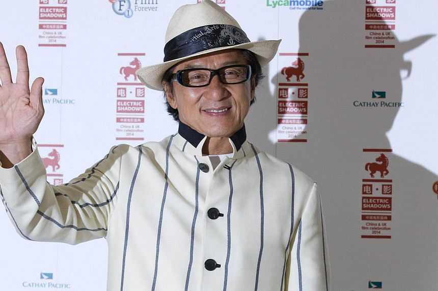Jackie Chan, 60. -- PHOTOS: HIM INTERNATIONAL MUSIC, ST FILE, AGENCE FRANCE-PRESSE, THE NEW PAPER FILE, APPLE DAILY, JOH