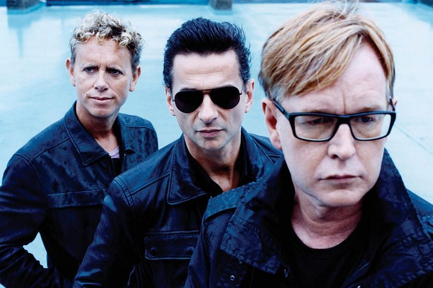 A new live album from Depeche Mode (above) will feature an acoustic session recorded inside a Berlin brothel in footage shot by celebrated rock photographer and director Anton Corbijn. -- PHOTO EMI MUSIC