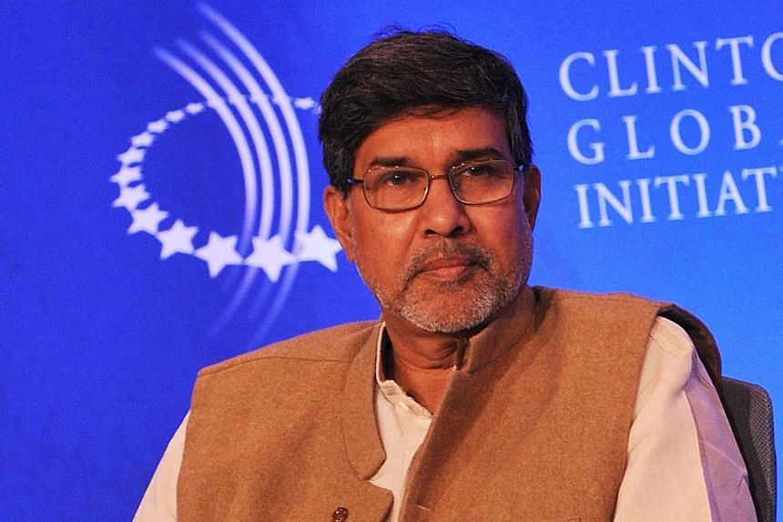 Mr Kailash Satyarthi attends a human trafficking special session during the 2009 Clinton Global Initiative at the Sheraton New York Hotel & Towers. The Twitter following of India's Satyarthi began jumping exponentially and his website appeared to