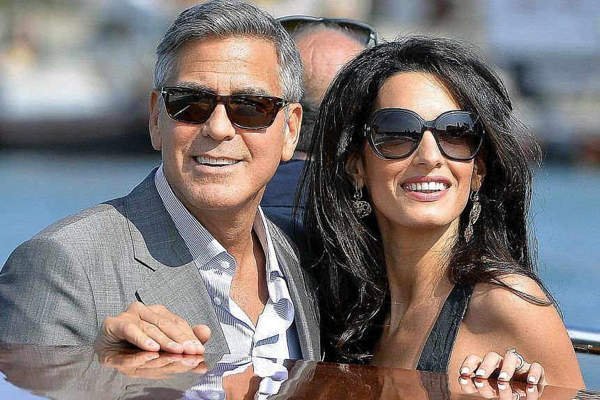 Human rights lawyer Amal Alamuddin Clooney, fresh from her marriage to Hollywood heart-throb George Clooney last month (above), is heading to Athens to advise the Greek government in its battle to repatriate the ancient Elgin Marbles statues from Bri