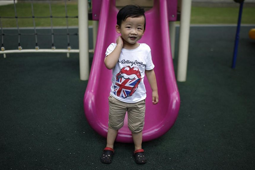 2012: Xin Zhiteng is also too young to express his thoughts on having siblings.